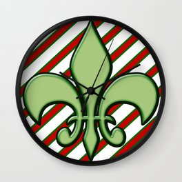 Christmas in NOLA Wall Clock