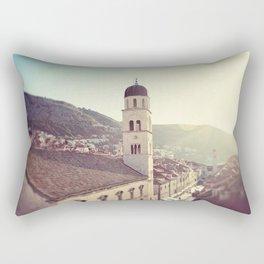 Belltower in Dubrovnik Rectangular Pillow