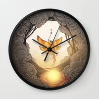 final fantasy Wall Clocks featuring final fantasy by Isabel Seliger