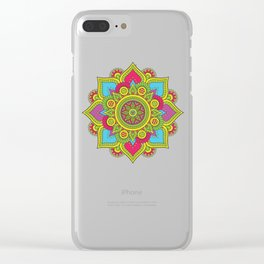 Indian Ornamental Clear iPhone Case