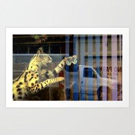 Meter Expired Art Print