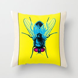 BB LOTERIA CARD No.50 - Fly Throw Pillow