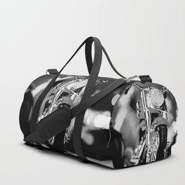 Motorbike-B&W Duffle Bag