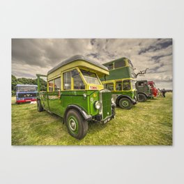 Bus Tow Truck  Canvas Print
