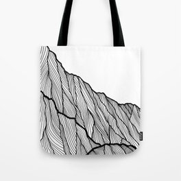 Rock lines Tote Bag