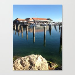 Boat Harbour Canvas Print