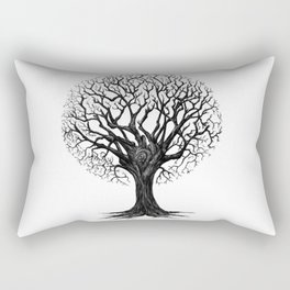 Fashionable Tree Rectangular Pillow