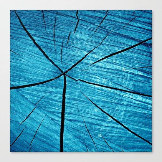 wood abstract II Canvas Print
