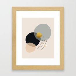 Modern minimal forms 24 Framed Art Print