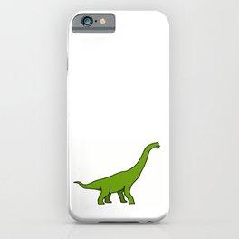Girafe préhistorique iPhone Case