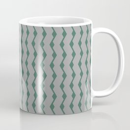 Teal lines Coffee Mug