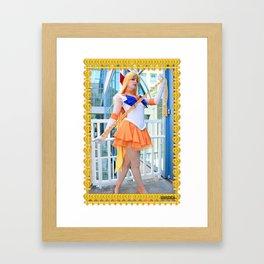 Venus Love Me Chain Remix Framed Art Print
