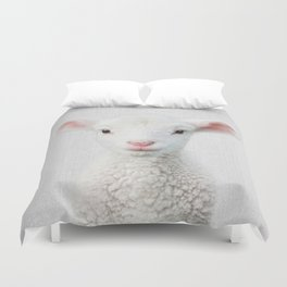 Lamb - Colorful Duvet Cover