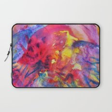 psychedelic angel corpes Laptop Sleeve