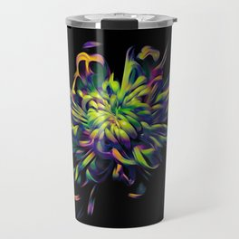 Rainbow Floral Travel Mug