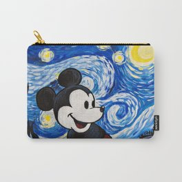 Starry Night Mickey Carry-All Pouch