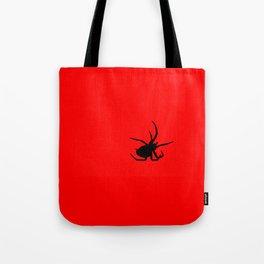 Black Spider Tote Bag