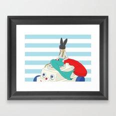 batfish Framed Art Print