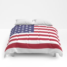 USA National Flag Authentic Scale G-spec 10:19 Comforters