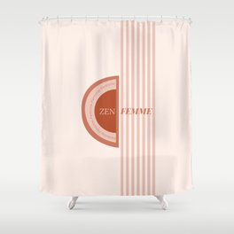 Zen Femme Shower Curtain