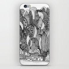 Mysterious Village iPhone & iPod Skin