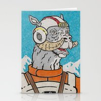 pilot Stationery Cards featuring Luke (Pilot) by Derek Eads