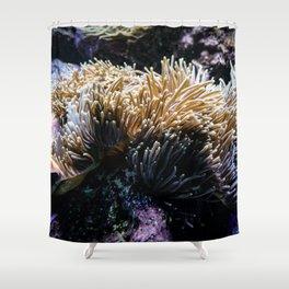 Understated Anemone Shower Curtain