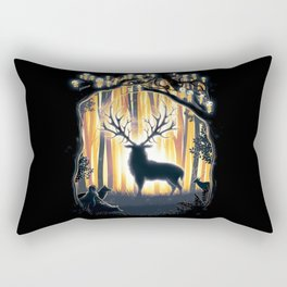 Master of the Forest Rectangular Pillow