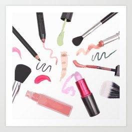 Cosmetic Art Print
