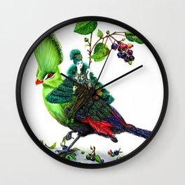 Turaco Wall Clock