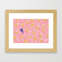 Kero and Suppi!! Framed Art Print