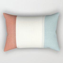 Modern art painting, geometric modernism, abstract canvas for home decoration, living room wall art Rectangular Pillow