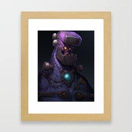 Frankenstein Redux Framed Art Print
