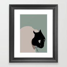 The Black Mask Collection 009 Framed Art Print