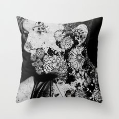 PHIL_IST FERNBLEIBEN Throw Pillow