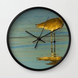 Sandpiper Reflections Wall Clock