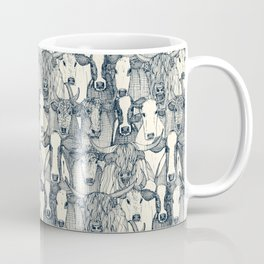just cattle indigo pearl Coffee Mug