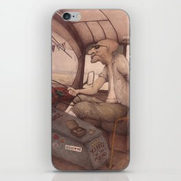 The King of the Road iPhone Skin
