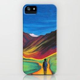Mendoza walking iPhone Case