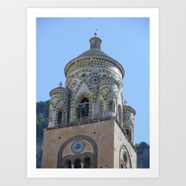 Amalfi Cathedral Art Print