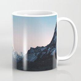 Blue & Pink Himalaya Mountains Coffee Mug
