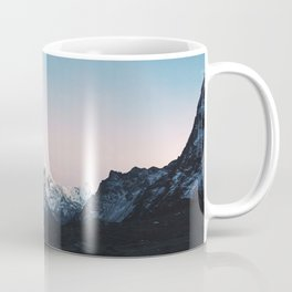 Blue & Pink Himalaya Mountains Coffee Mug