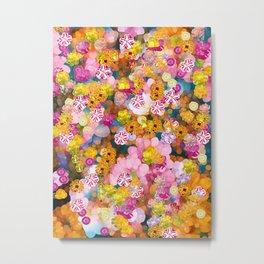 Petit Fleurs Metal Print