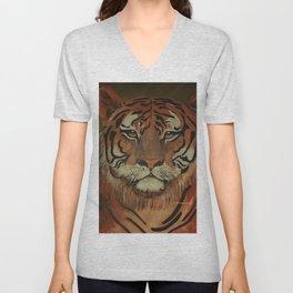 """ Tiger "" Unisex V-Neck"