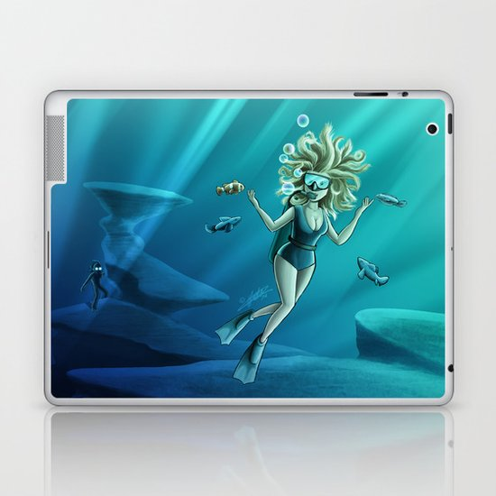 Deep Sea Feelings (Evolve) Laptop & iPad Skin
