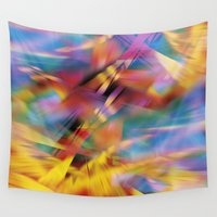 prism Wall Tapestries featuring Prism by renajoy