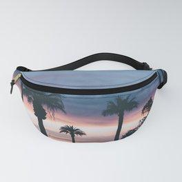 Palm Tree Sky Sunset Fanny Pack