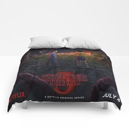 Stranger Thing Movie Comforters