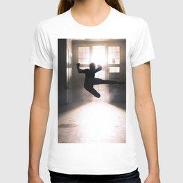 Jump contre jour T-shirt