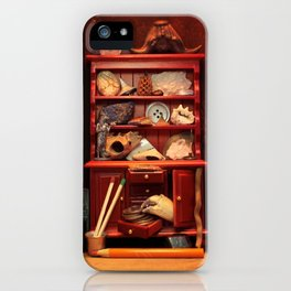 Curio Cabinet - Search and Find! iPhone Case